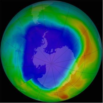 科学家发现四种破坏臭氧层的新气体